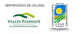 Certificado de Calidad Rural Valles Pasiegos del Valle de Machucón